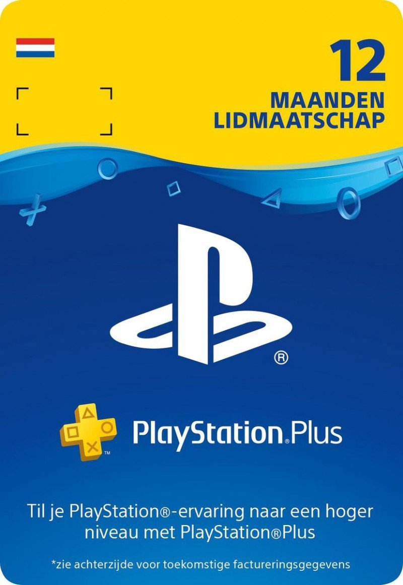 PlayStation Plus 12 maanden