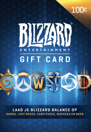 Blizzard Gift Card €100