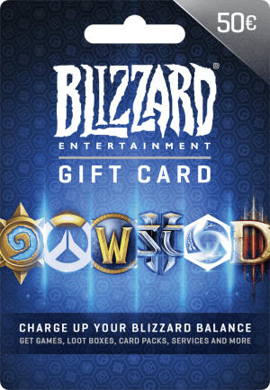 Blizzard Gift Card €50