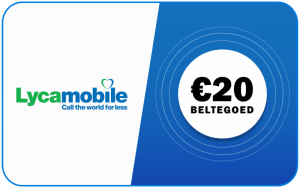 Lycamobile €20
