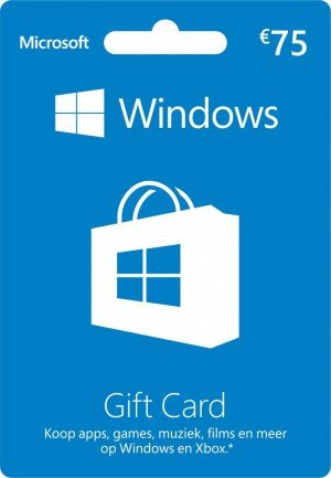 Windows Gift Card €75