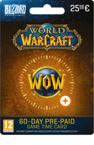 World of Warcraft 60 dagen tegoed