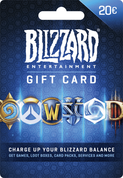 Blizzard Gift Card €20