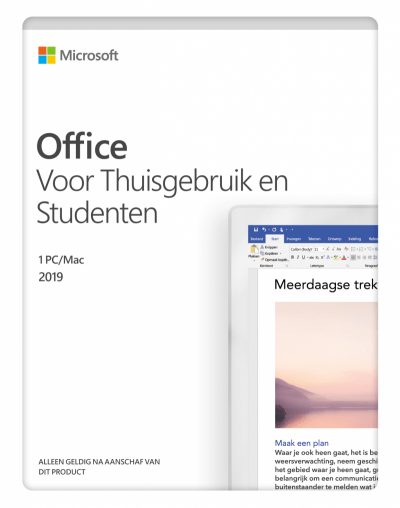 Microsoft Office 2019 Home & Student (PC of Mac)