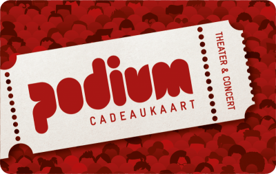 Podium digitale Cadeaukaart