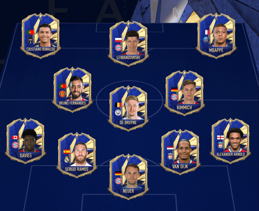 FIFA Team of the Year 2021 is eindelijk bekend!